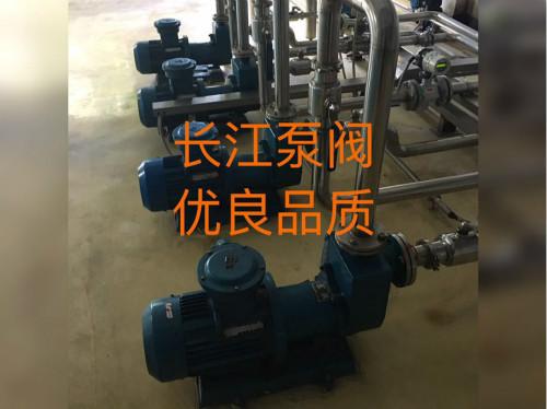承德某庄酿酒厂使用我司自吸式离心泵输送酒液酒浆