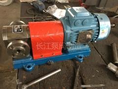 F系列全不锈钢防腐食品级齿轮泵型号参数 (1)