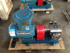 F系列全不锈钢防腐食品级齿轮泵厂家 (2)