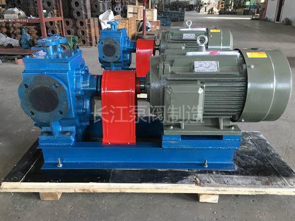 天津某沥青项目BW保温沥青齿轮泵