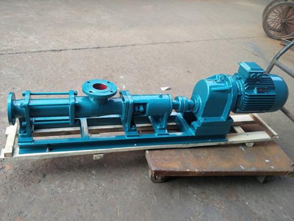 G型单螺杆泵型号参数